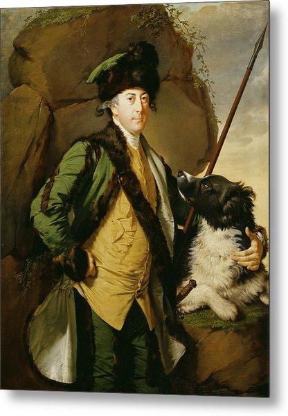 Portrait Of John Whetham Of Kirklington 1731-81, 1779-1780 Oil On Canvas Metal Print