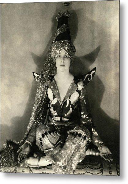 Portrait Of Jeanne Jacqueline Harper Metal Print