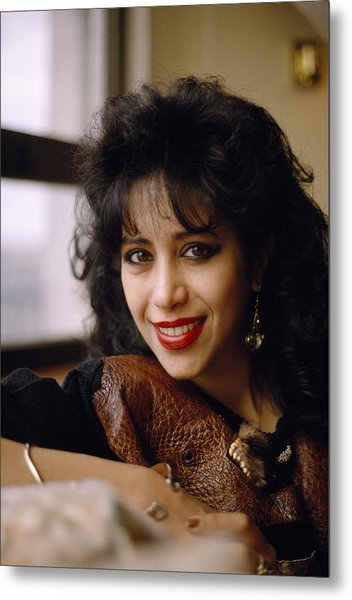 Portrait Of Ofra Haza Metal Print