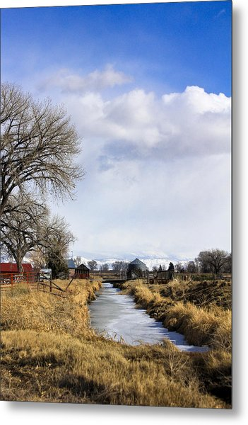 Portrait Of Rural Colorado Metal Print