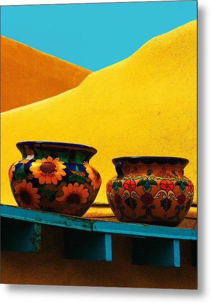 Portrait Of Taos Metal Print