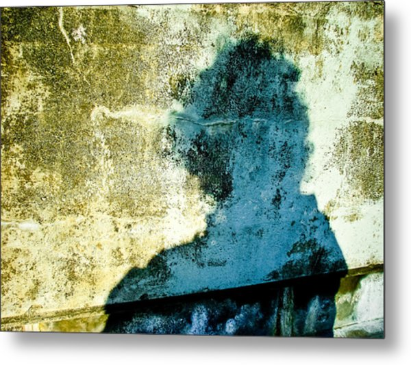 Portrait Of The Artist As Shadow 3 Metal Print by Ronda Broatch