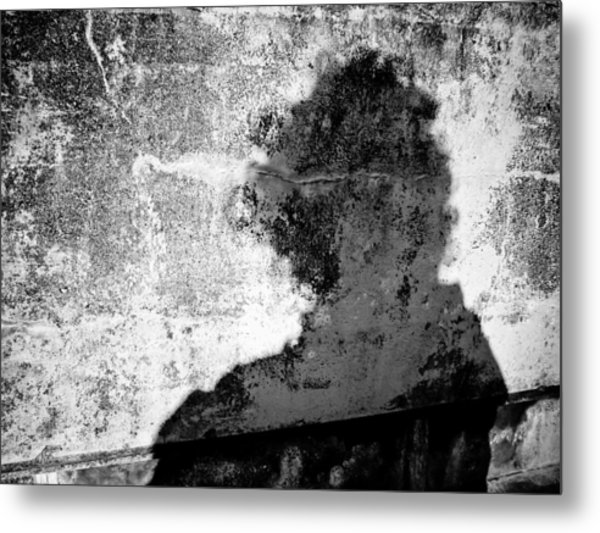 Portrait Of The Artist As Shadow 6 Metal Print by Ronda Broatch