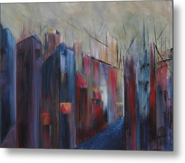 Port's Passage Metal Print