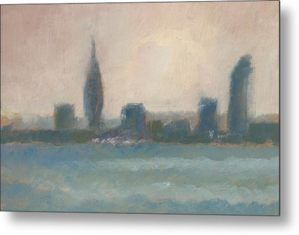 Portsmouth Dawn Part Four Metal Print by Alan Daysh