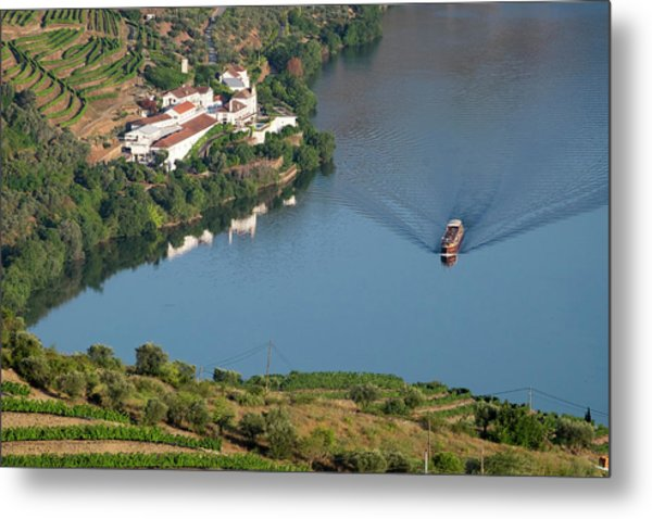 Portugal, Douro Valley, Douro River Metal Print