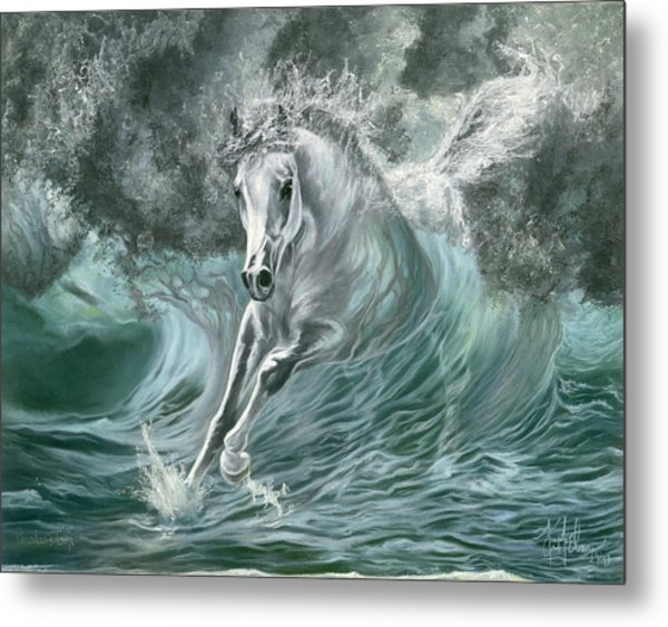 Poseidon's Gift Metal Print
