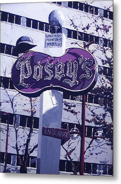 Posey's Metal Print by Paul Guyer