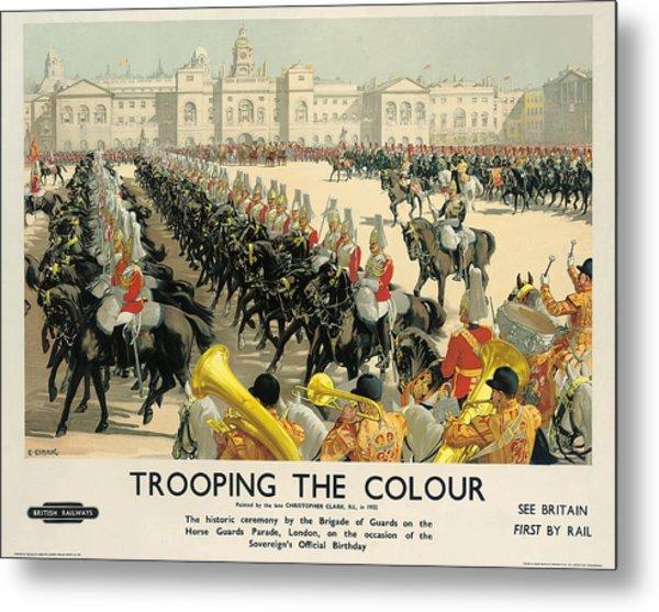 Poster Advertising British Railways Metal Print