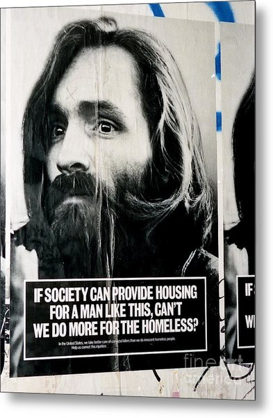 Poster Boy Charlie Metal Print
