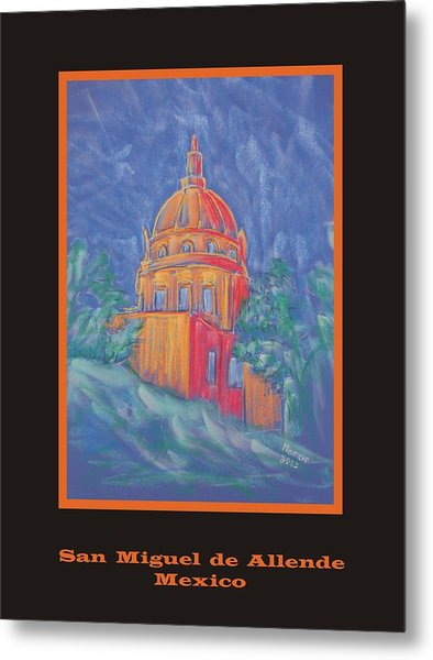 Poster - The Basilica Metal Print by Marcia Meade