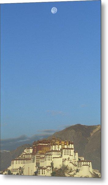 Potala Palace In Lhasa, Tibet Metal Print