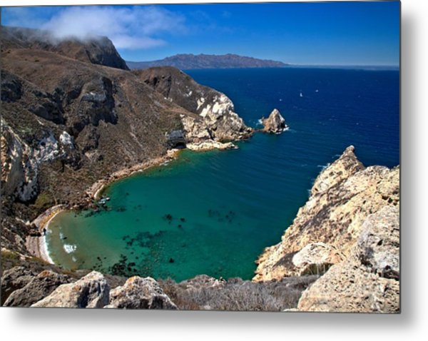Potato Harbor Views Metal Print