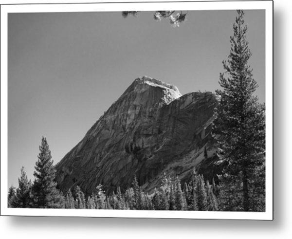 Pothole Dome In Yosemite Metal Print