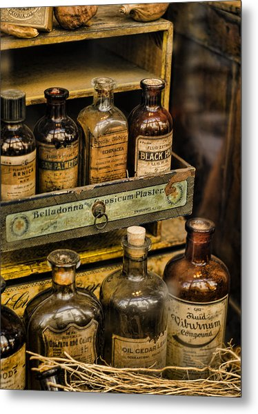 Potions And Cure Alls Metal Print