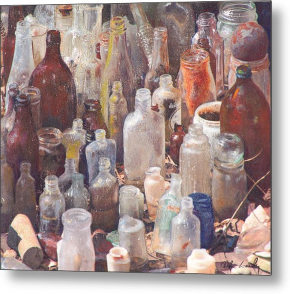 Potions And Elixirs Metal Print