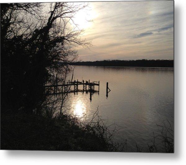 Potomac Reflective Metal Print