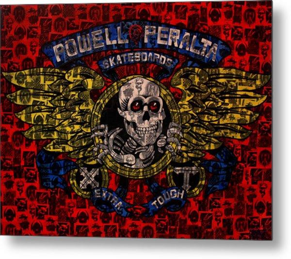 Powell Peralta Metal Print