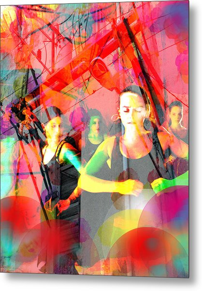 Power Of Cuba   Flamenco Metal Print