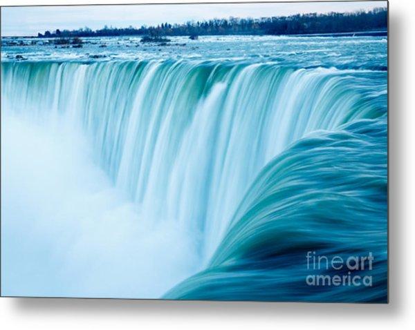 Power Of Niagara Falls Metal Print
