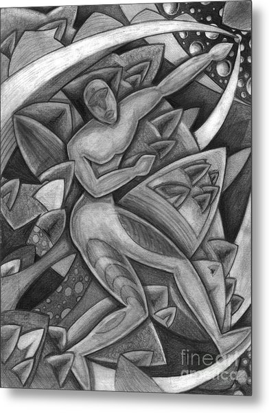 Power Of The Dance - Reach Metal Print