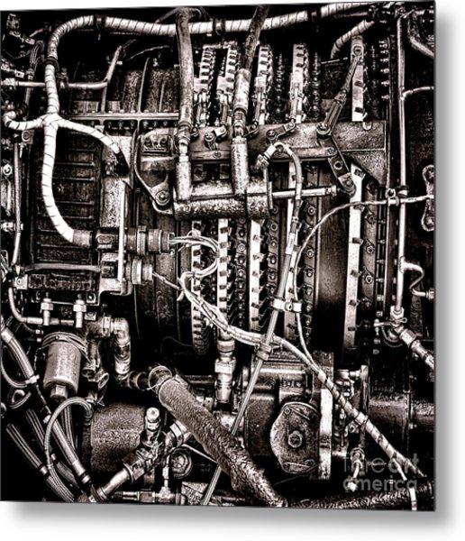 Powerplant Metal Print