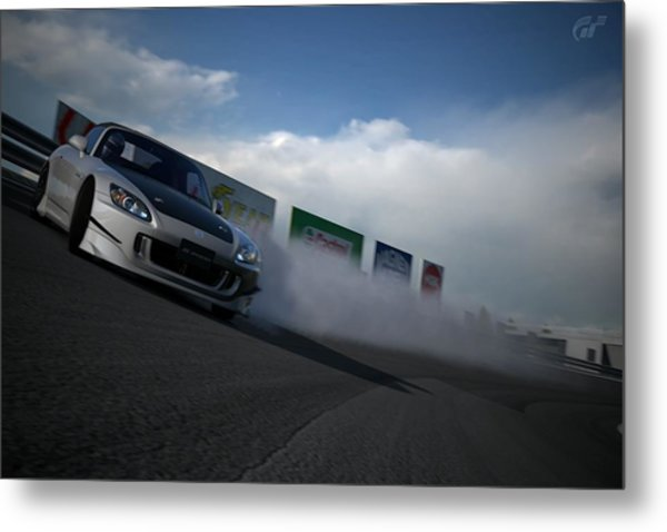 Powerslide Metal Print by Michael Murphy