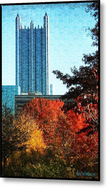 Metal Print featuring the photograph Ppg In Autumn by Joe Winkler