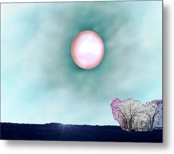 Prairie Moon Metal Print