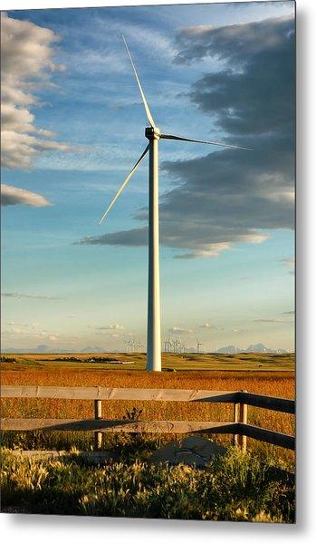 Prairie Wind 4 Metal Print