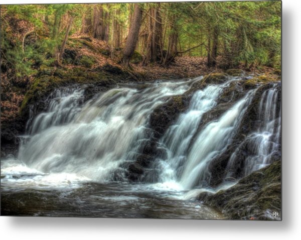 Pratt Brook Falls Metal Print