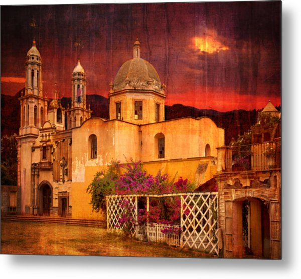 Prayers At Dusk Metal Print