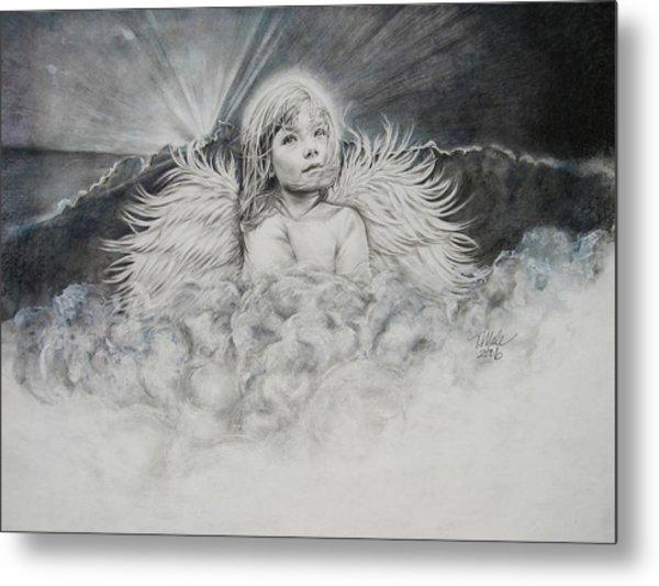 Prayers To An Angel Metal Print