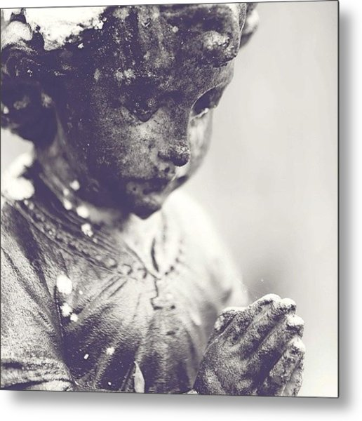 Praying For You.. For Those In Need Metal Print