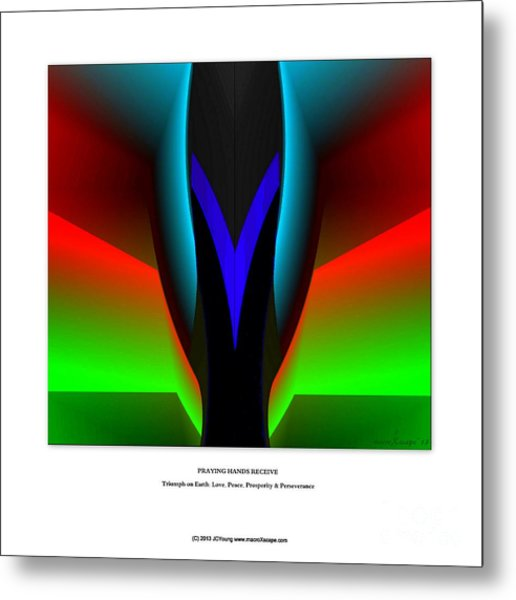 Praying Hands Metal Print by JCYoung MacroXscape