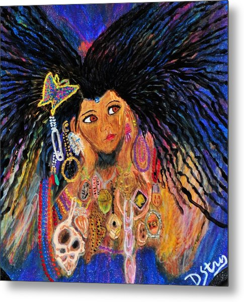 Precious Fairy Child Metal Print