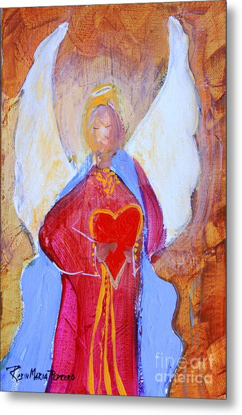 Precious Heart Angel Metal Print