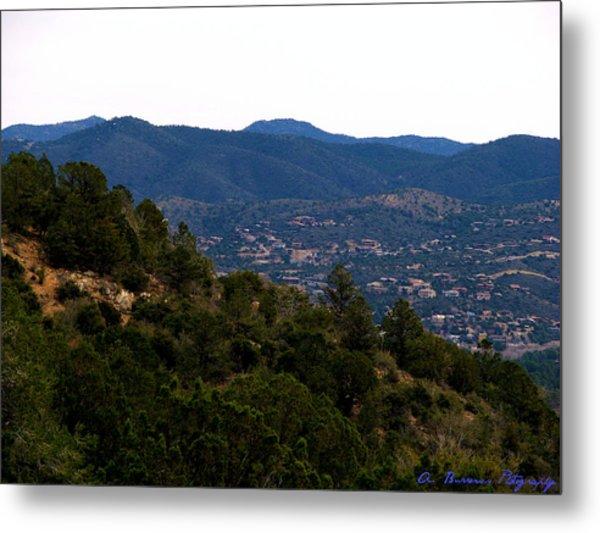 Prescott Mountainsides Metal Print