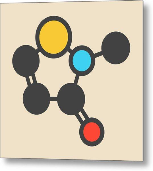 Preservative Molecule Metal Print by Molekuul