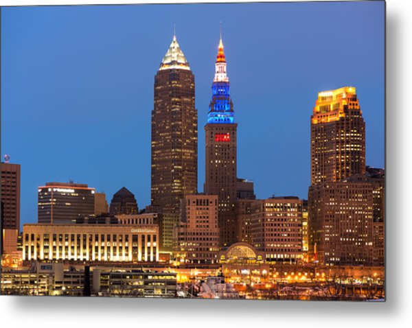 President's Day In Cleveland 2014 2 Metal Print
