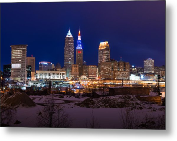 President's Day In Cleveland 2014 Metal Print