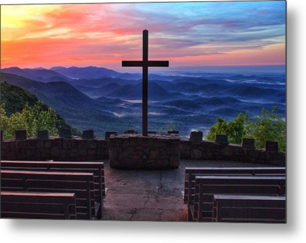 Pretty Place Chapel Sunrise Metal Print