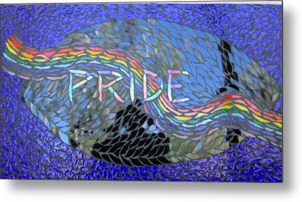 Pride Metal Print by Alison Edwards