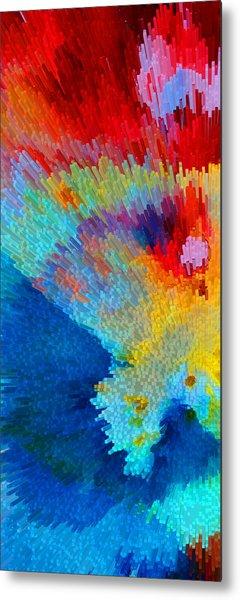Primary Joy - Abstract Art By Sharon Cummings Metal Print