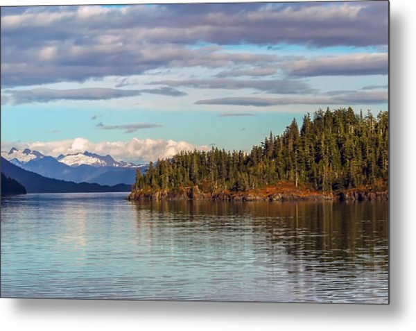 Prince William Sound Alaskan Landscape Metal Print