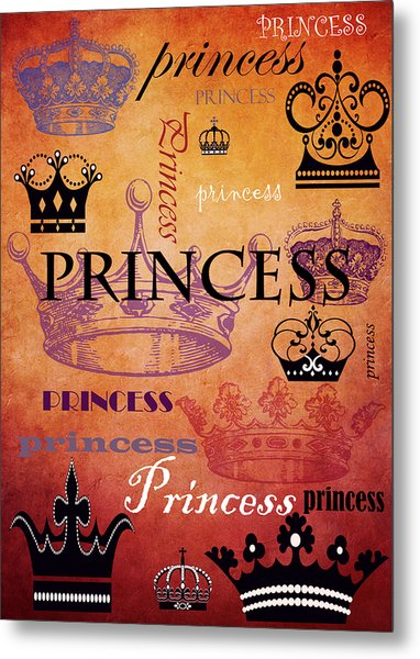 Princess 2 Metal Print