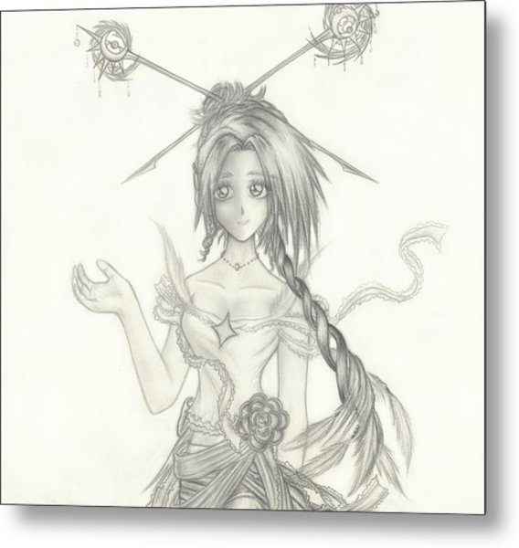 Princess Altiana Metal Print