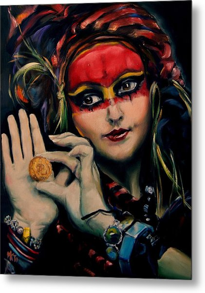 Princess Of The Thieves Metal Print