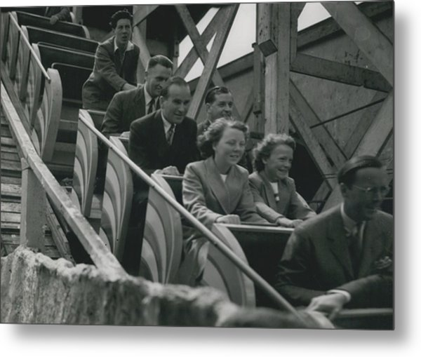 Princesses Go To The Fair Metal Print by Retro Images Archive