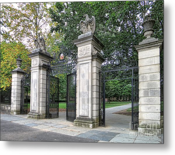 Princeton University Main Gate Metal Print